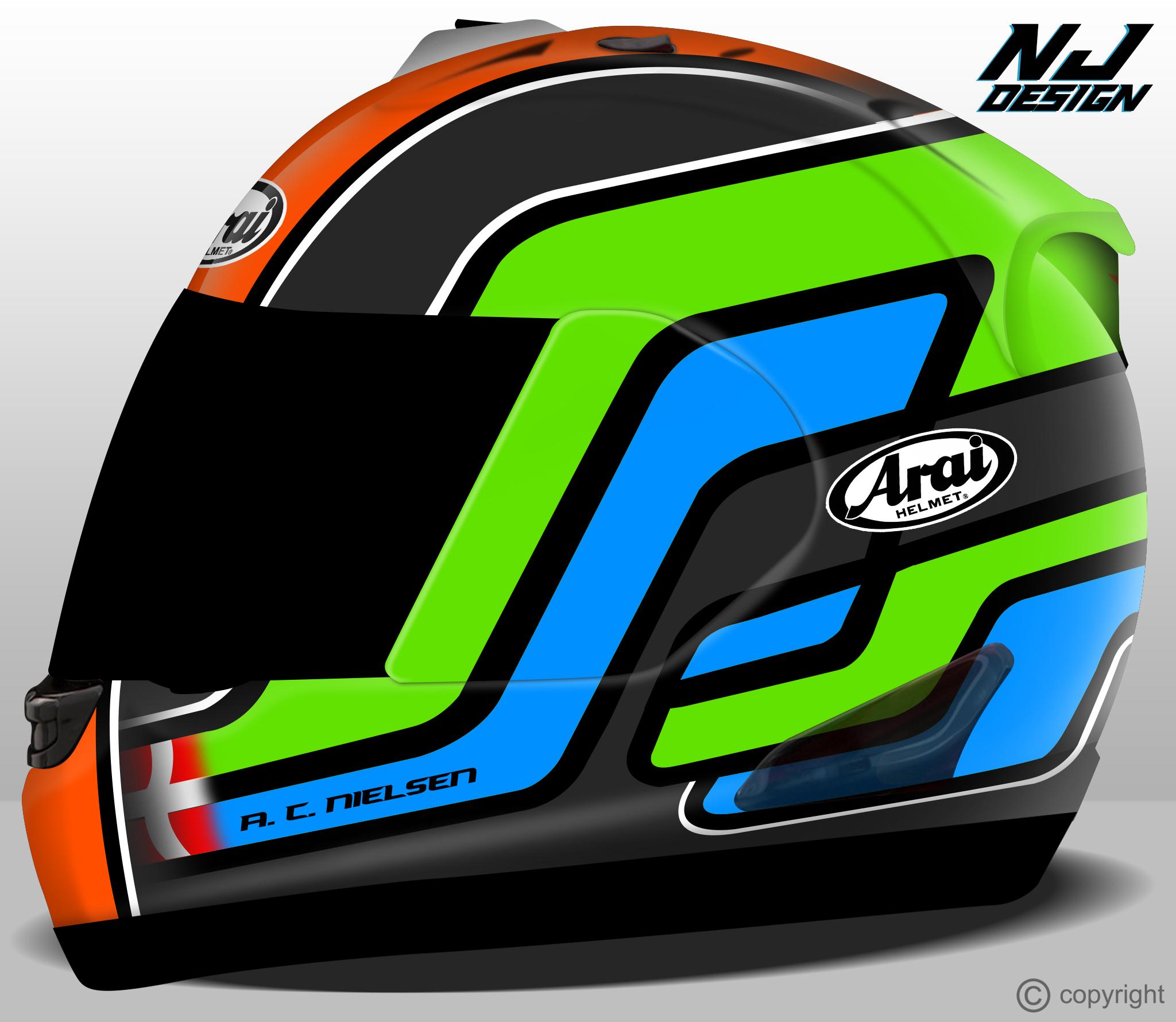 Helmet Designs 2014 NJ Design