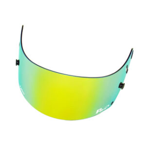 Fm-v Plus mirror coating visor GOLD GREEN SMOKE