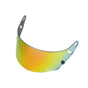 Fm-v Plus mirror coating visor GOLD