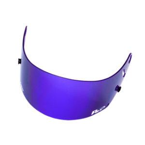Fm-v Plus mirror coating visor PURPLE BLUE SMOKE