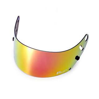 Fm-v mirror coating visor GOLD SMOKE