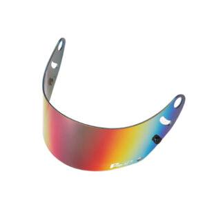 Fm-v mirror coating visor RED SMOKE