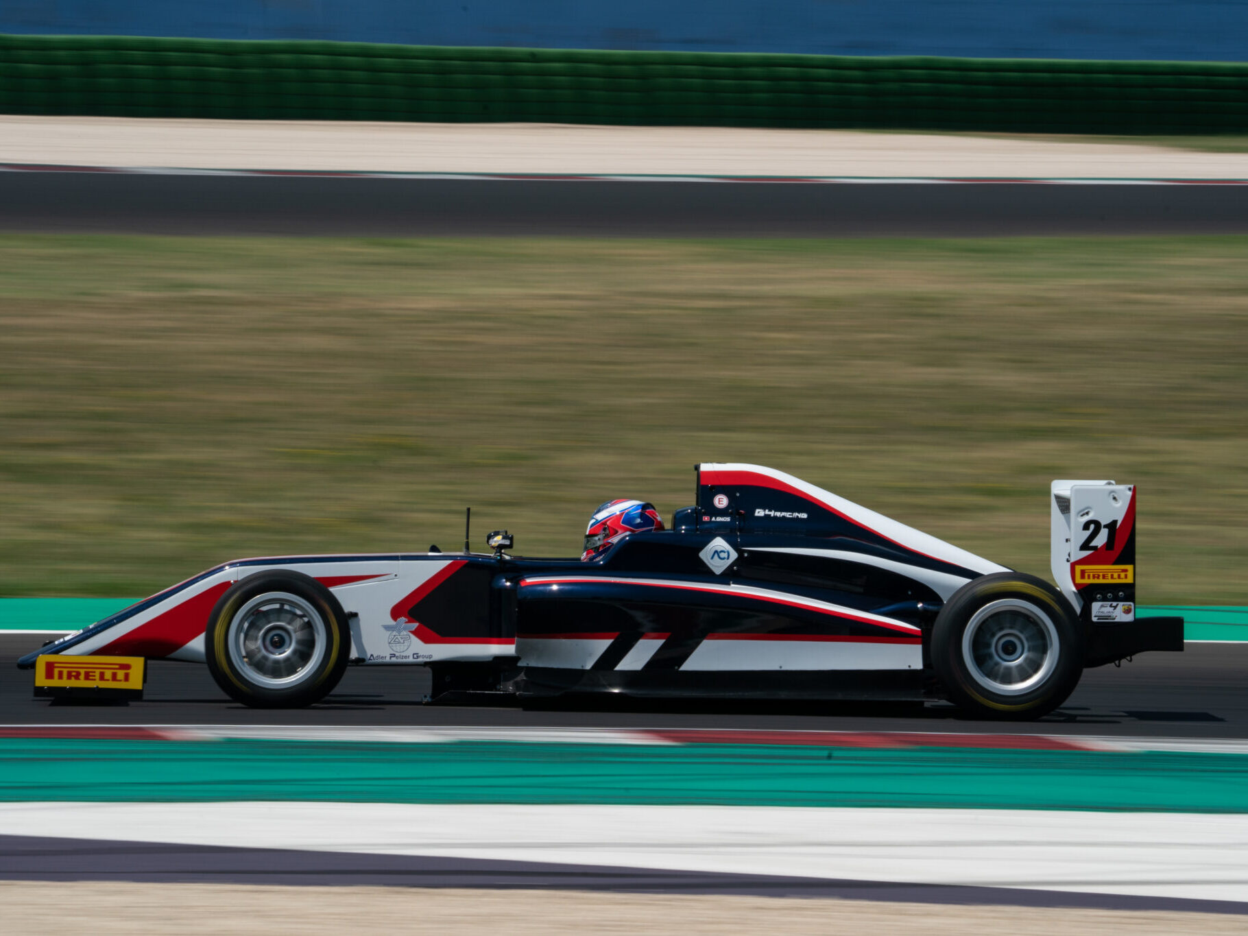 Formula 4 livery