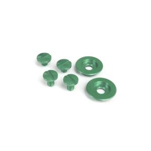 Visor screw kit green