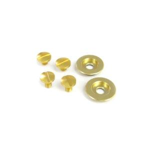 Visor screw kit gold